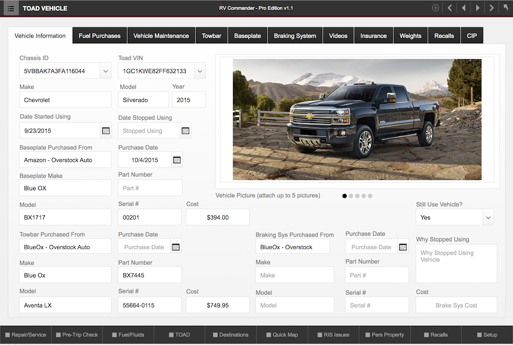 RV Commander – The Five-Star App For Your Five-Star Motorcoach